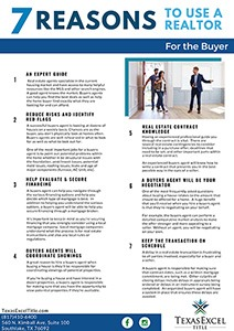 7 Reasons to Use a Realtor - Buyer