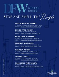 dfw winery guide